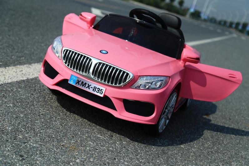 Электромобиль BMW розовыйЭлектромобили, детские машины на аккумуляторе<br>Электромобиль BMW розовый<br>