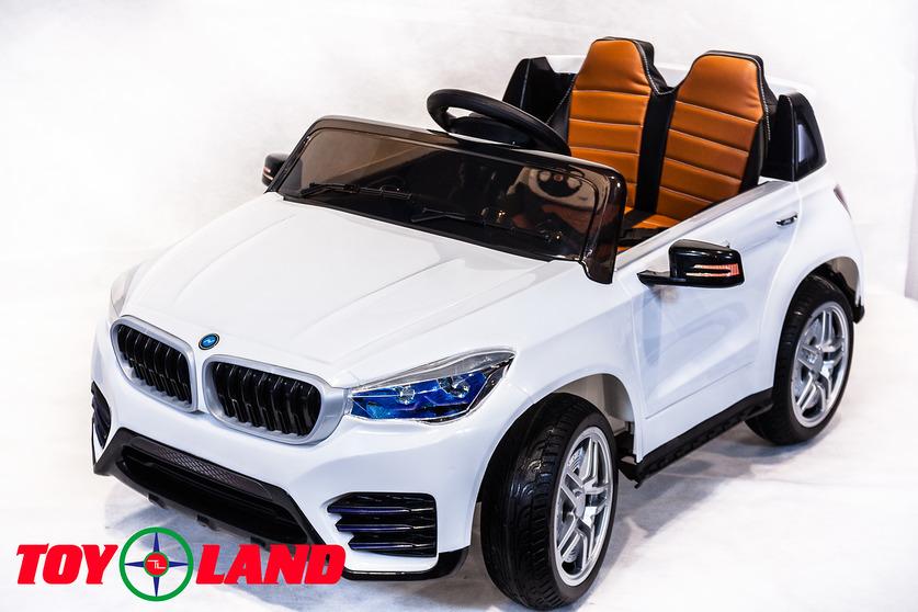 Электромобиль BMW белыйЭлектромобили, детские машины на аккумуляторе<br>Электромобиль BMW белый<br>