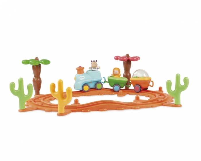 Игрушечная музыкальная железная дорога - Железная дорога для малышей, артикул: 24758