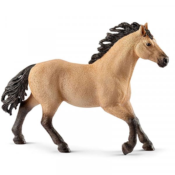Купить Фигурка – Четвертьмильная лошадь, жеребец, 14, 1 см, Schleich
