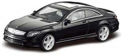 Металлическая машинка Mercedes CL 63 AMG, масштаб 1:43