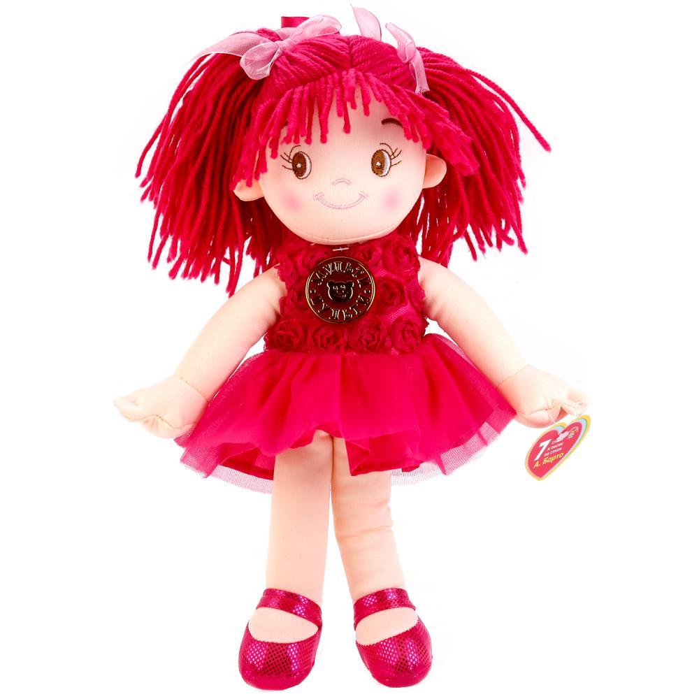 Купить Мягкая кукла 35 см., стихи и песенки на стихи А. Барто, Мульти-Пульти