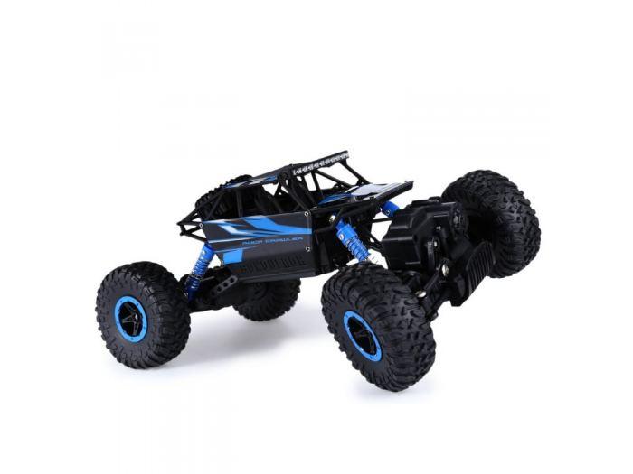 Машина на радиоуправлении - Монстр Трак, 1:18, синий/черныйМашины на р/у<br>Машина на радиоуправлении - Монстр Трак, 1:18, синий/черный<br>