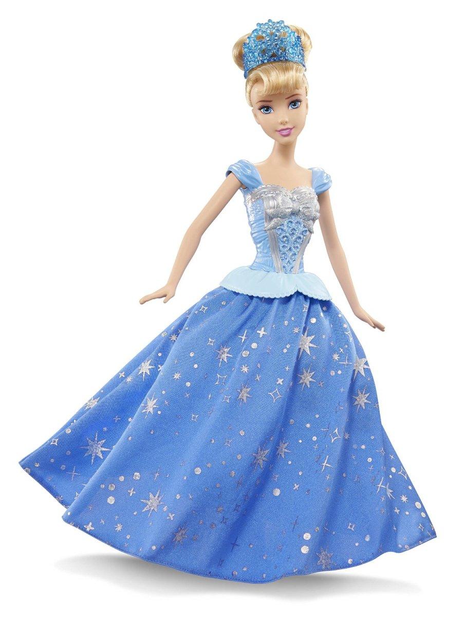 Кукла Disney Princess. Принцесса Золушка с развивающейся юбкойЗолушка<br>Кукла Disney Princess. Принцесса Золушка с развивающейся юбкой<br>