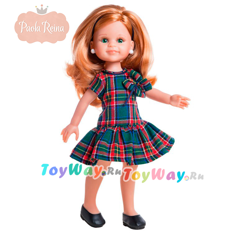 Кукла Клэр, 32 смИспанские куклы Paola Reina (Паола Рейна)<br>Кукла Клэр, 32 см<br>