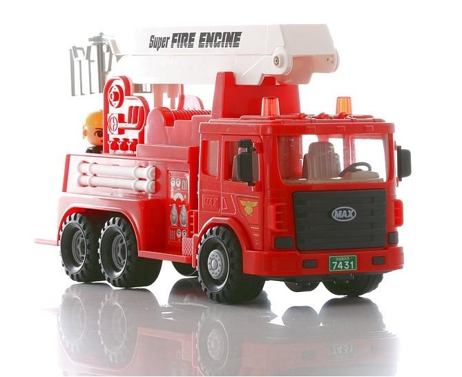 Машина пожарная Max - Пожарные машины, автобусы, вертолеты и др. техника, артикул: 84343