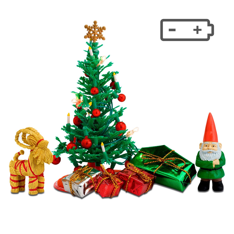 Набор мебели для домика - Рождественский набор
