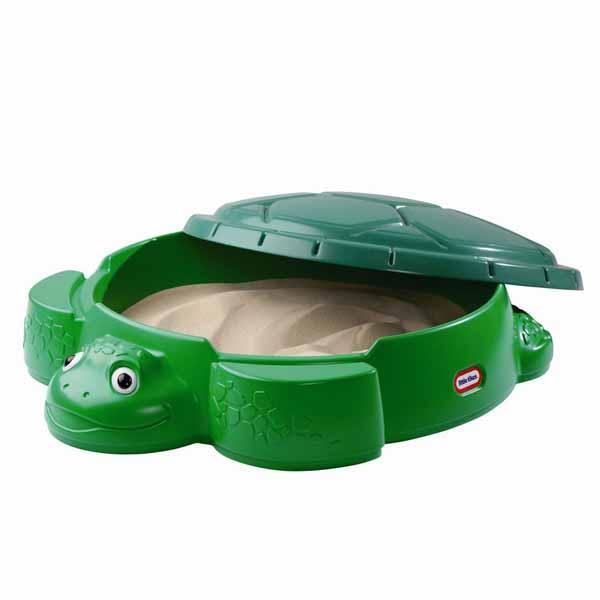 Игрушечная песочница - ЧерепахаРазвивающие игрушки Little Tikes<br>Игрушечная песочница - Черепаха<br>