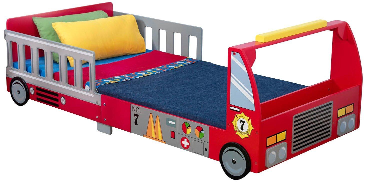 Детская кровать – Пожарная машинаДетские кровати и мягкая мебель<br>Детская кровать – Пожарная машина<br>