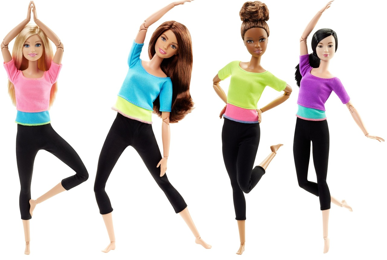 Барби безграничные движения фотосессия