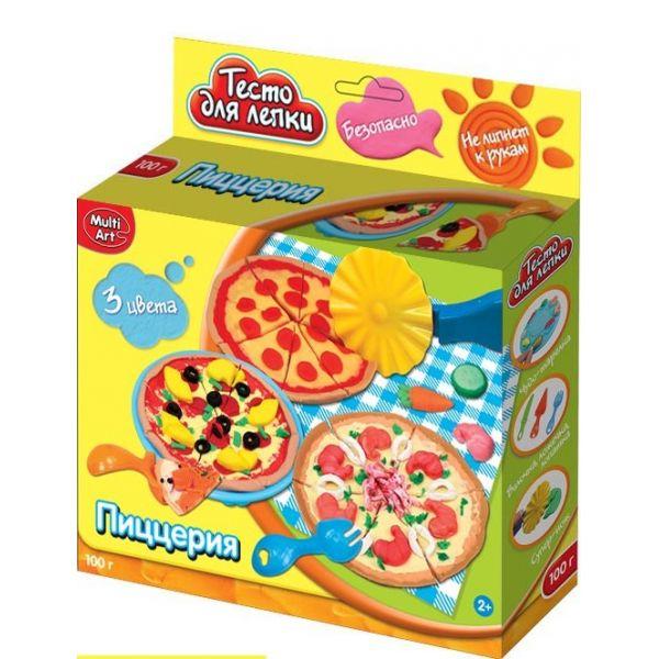 Набор тесто для лепки - ПиццерияНаборы для лепки<br>Набор тесто для лепки - Пиццерия<br>