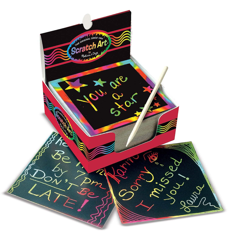 Дисплей радужных листов «Scratch Art»с различными эффектами<br>Дисплей радужных листов «Scratch Art»<br>
