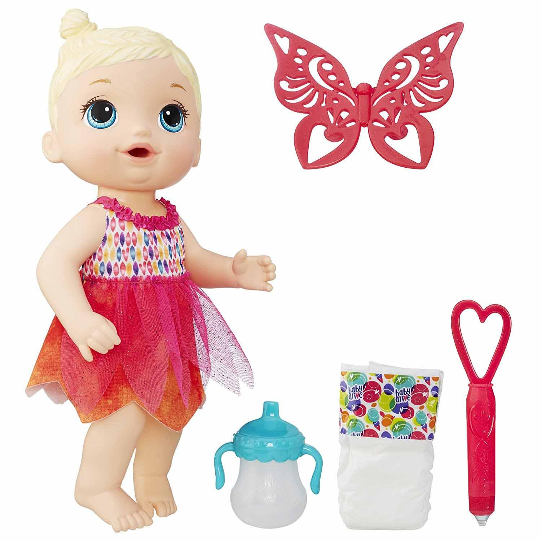 Кукла Baby Alive - Малышка-фея, 30 смИнтерактивные куклы<br>Кукла Baby Alive - Малышка-фея, 30 см<br>