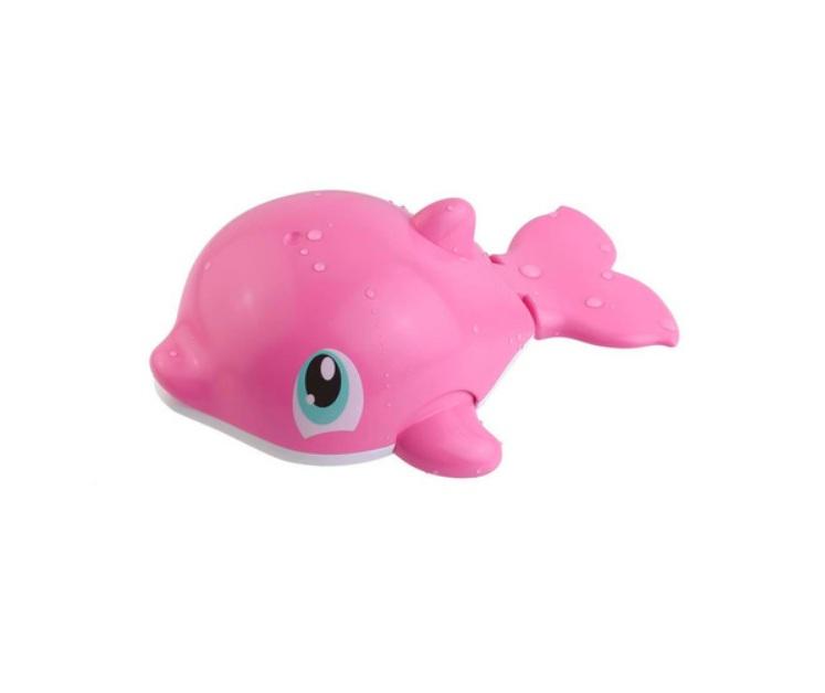 Игрушка для купания – Водоплавающие - Розовый дельфинИнтерактивные игрушки для ванны<br>Игрушка для купания – Водоплавающие - Розовый дельфин<br>