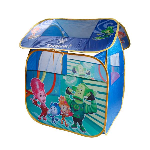 Детская игровая палатка Фиксики, в сумкеДомики-палатки<br>Детская игровая палатка Фиксики, в сумке<br>