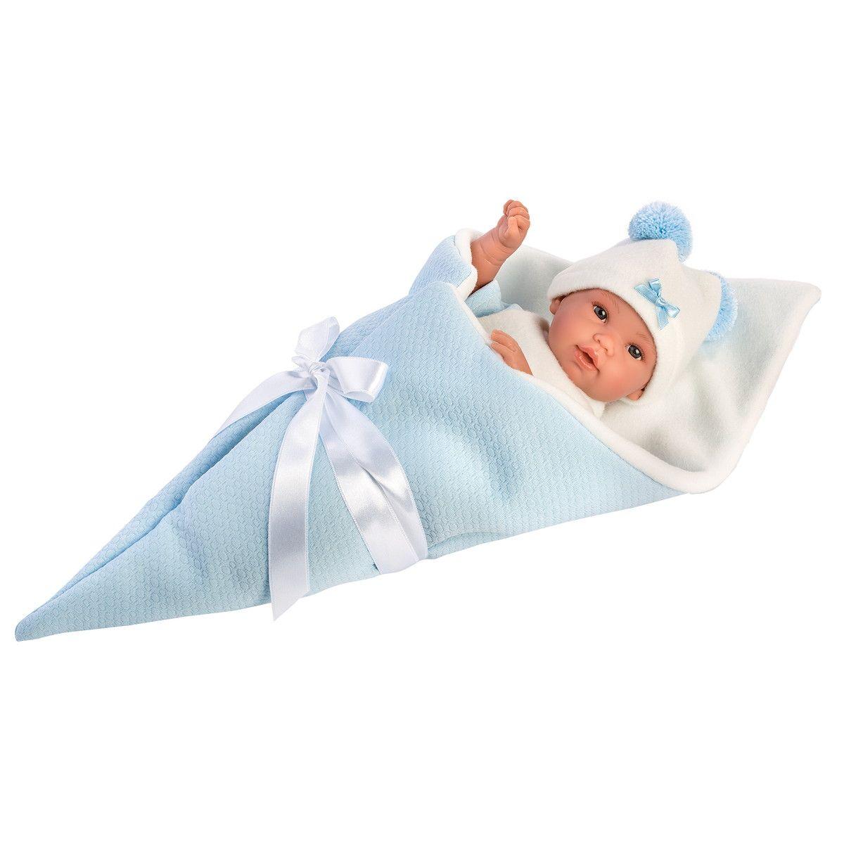 Купить Кукла в голубом конверте, 36 см, Llorens Juan