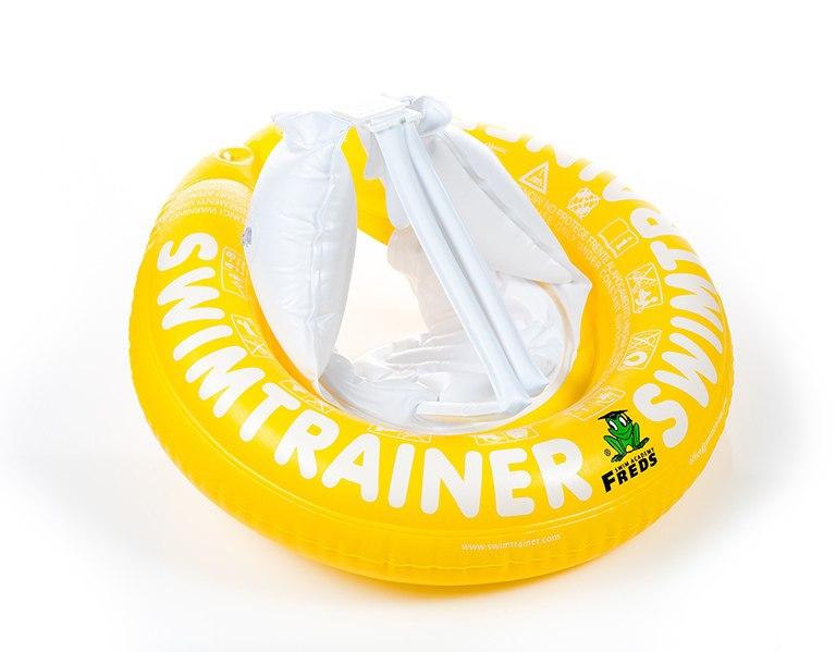 Надувной круг - Swimtrainer Classic, желтый, 4-8 лет