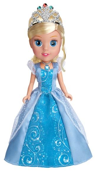 Кукла Disney Princess - Золушка со звуком и светом, 25 смКуклы Карапуз<br>Кукла Disney Princess - Золушка со звуком и светом, 25 см<br>