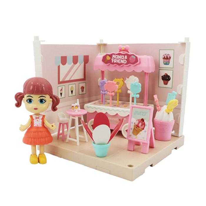 Купить Игровой набор - Милый уголок - Кафе-мороженое, Funky Toys