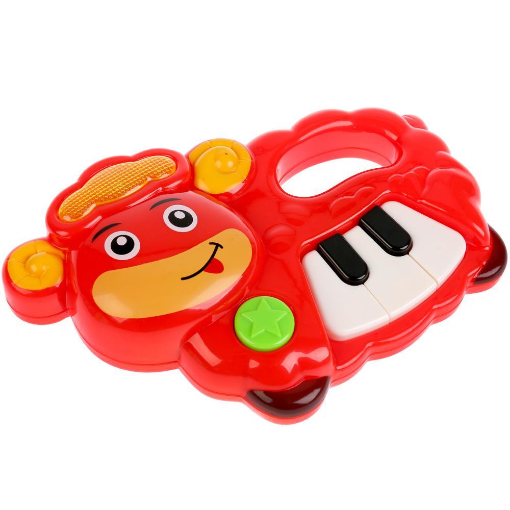 Купить Музыкальное пианино, 27 потешек и песен из мульфильмов, свет и звук, Умка