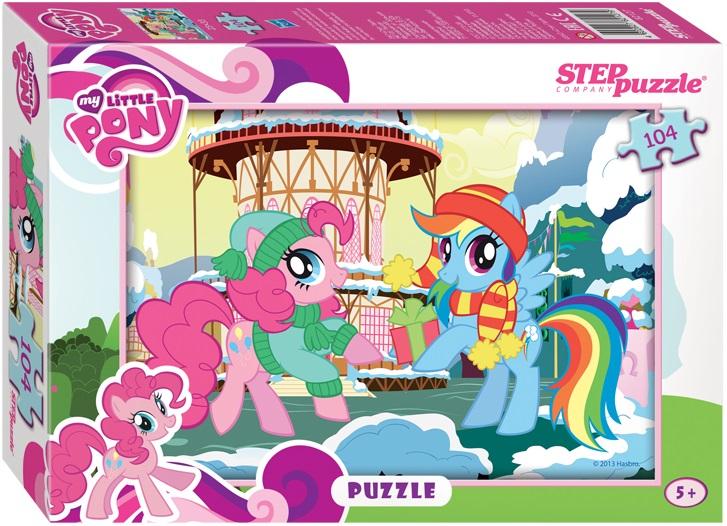 Пазл Мой маленький пони, 104 элементовМоя маленькая пони (My Little Pony)<br>Пазл Мой маленький пони, 104 элементов<br>