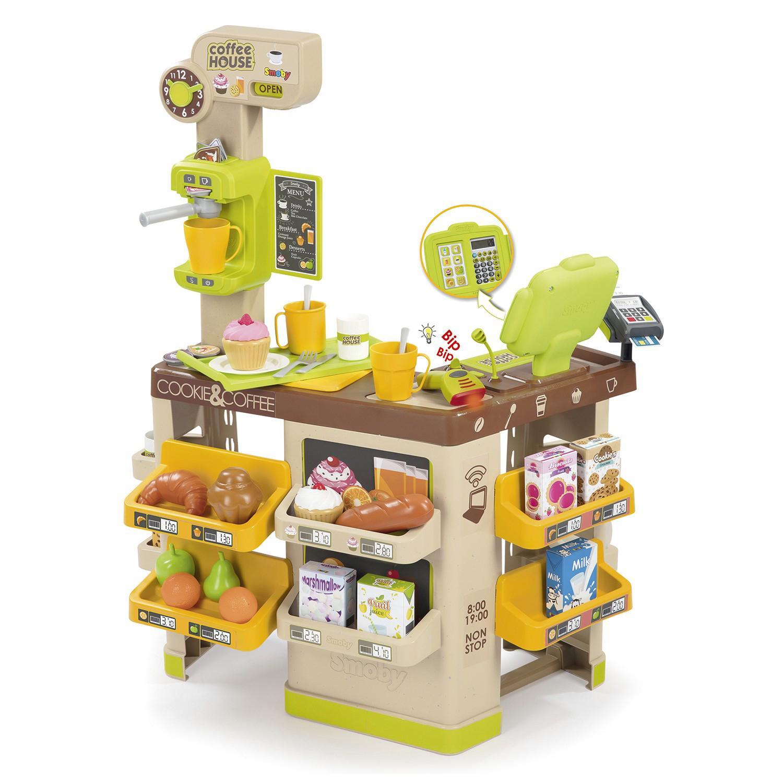 Купить Игровой набор – Кофейня Coffee House. 63 аксессуара, Smoby