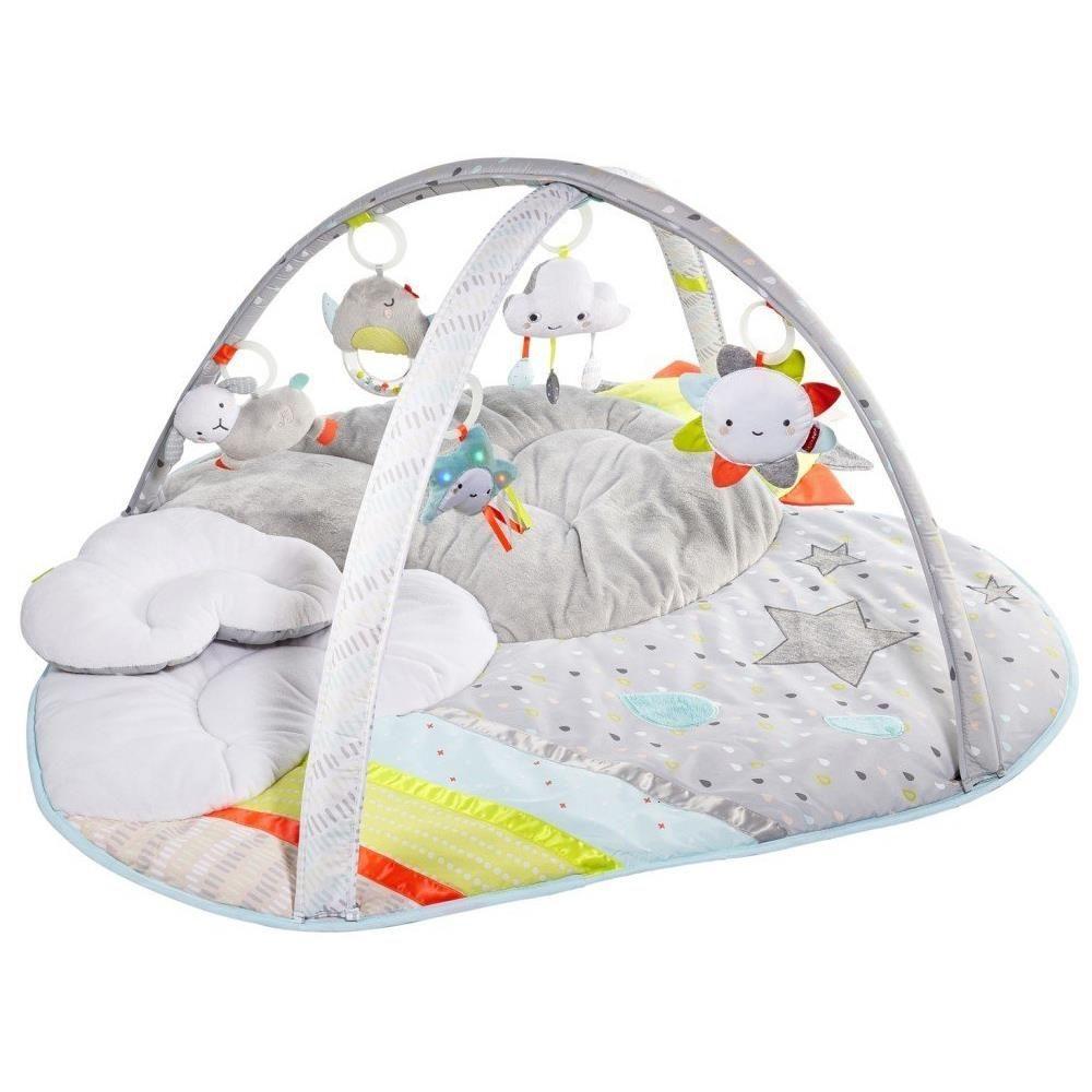 Гимнастический коврик с дугами Тучки - Детские развивающие коврики для новорожденных, артикул: 158697