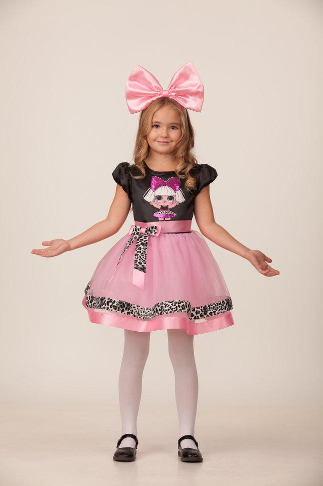 Карнавальный костюм для девочек – Прекрасная Дива, размер 110-56 Батик