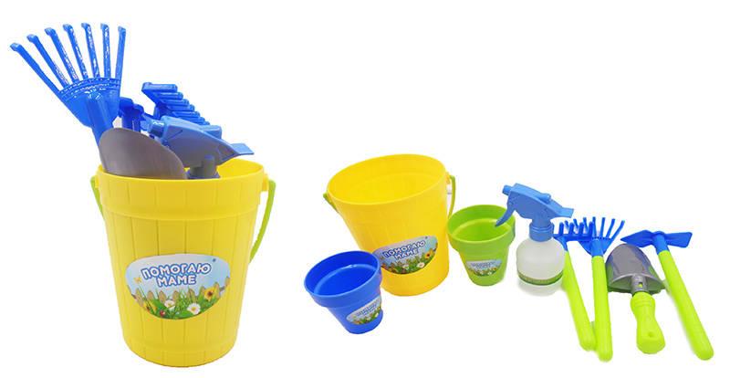 Набор для садоводства - Помогаю Маме, 8 предметовЮный садовод<br>Набор для садоводства - Помогаю Маме, 8 предметов<br>
