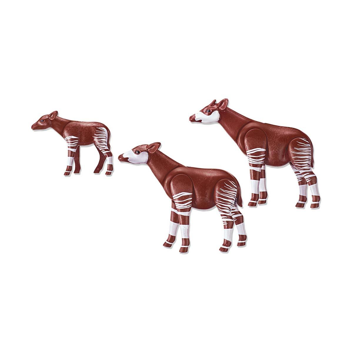 Купить Игровой набор Зоопарк - Семья Окапи, Playmobil