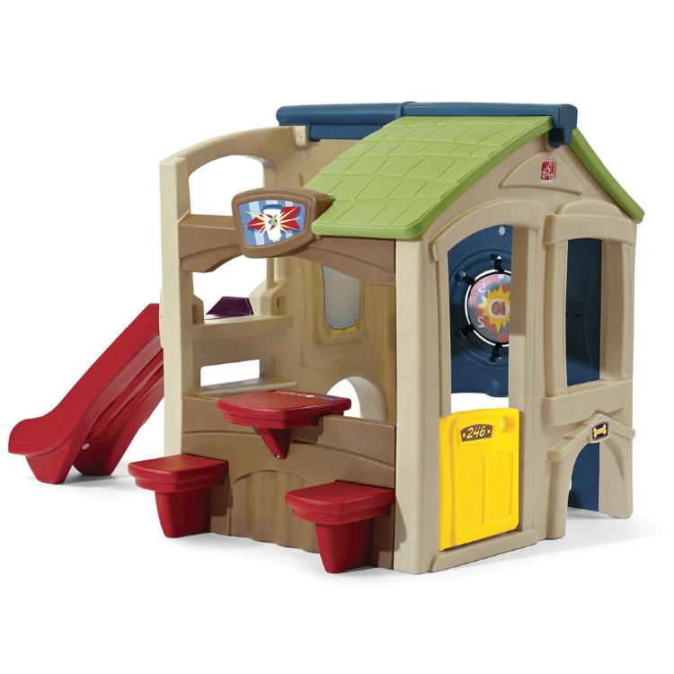 Игровой домик  Веселые соседи - Пластиковые домики для дачи, артикул: 160847