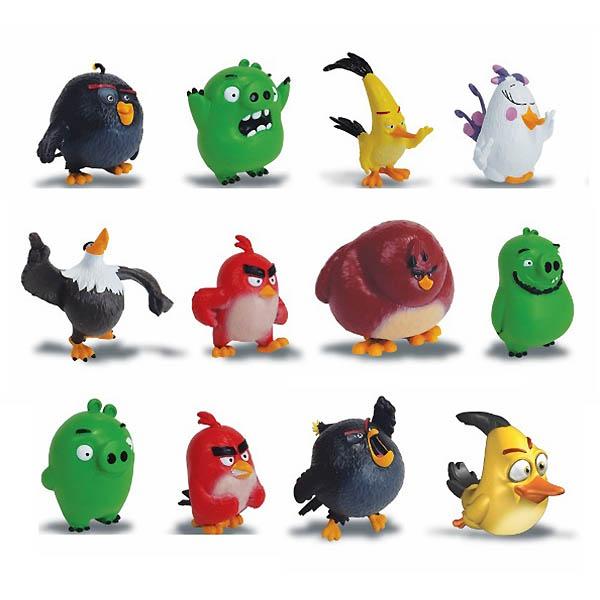 Игрушка из серии «Angry Birds» коллекционная - фигурка сердитая птичка от Toyway