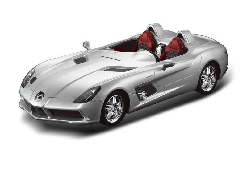 картинка Машина на р/у - Mercedes-Benz SLR, серебряный, 1:12 от магазина Bebikam.ru