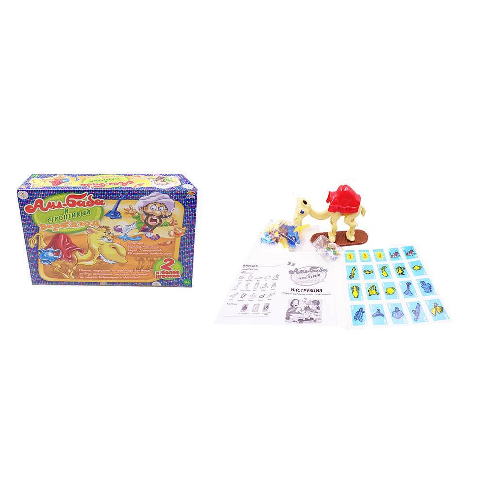 Настольная игра - Али-Баба и строптивый верблюдДля самых маленьких<br>Настольная игра - Али-Баба и строптивый верблюд<br>