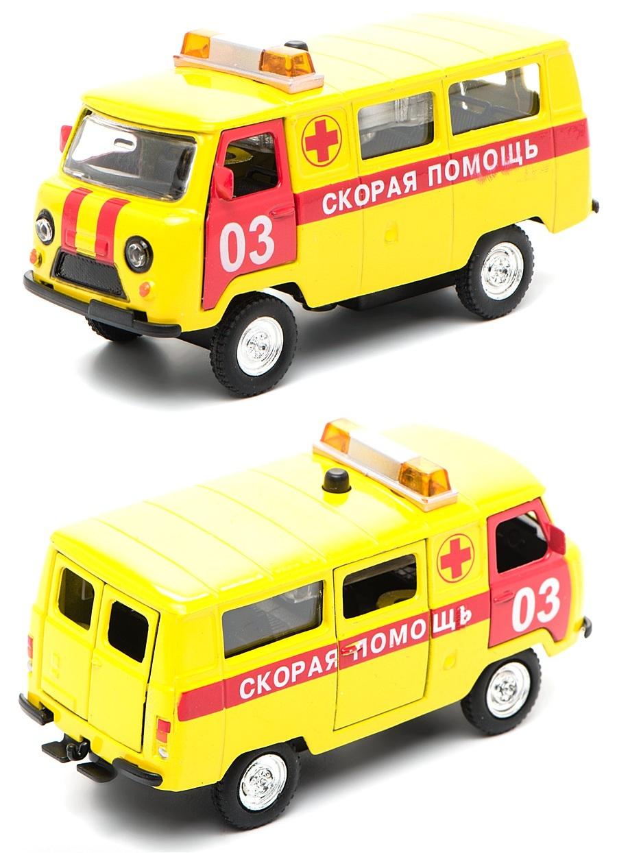 Инерционная машина УАЗ- 396259 - Скорая помощь, свет, звук от Toyway