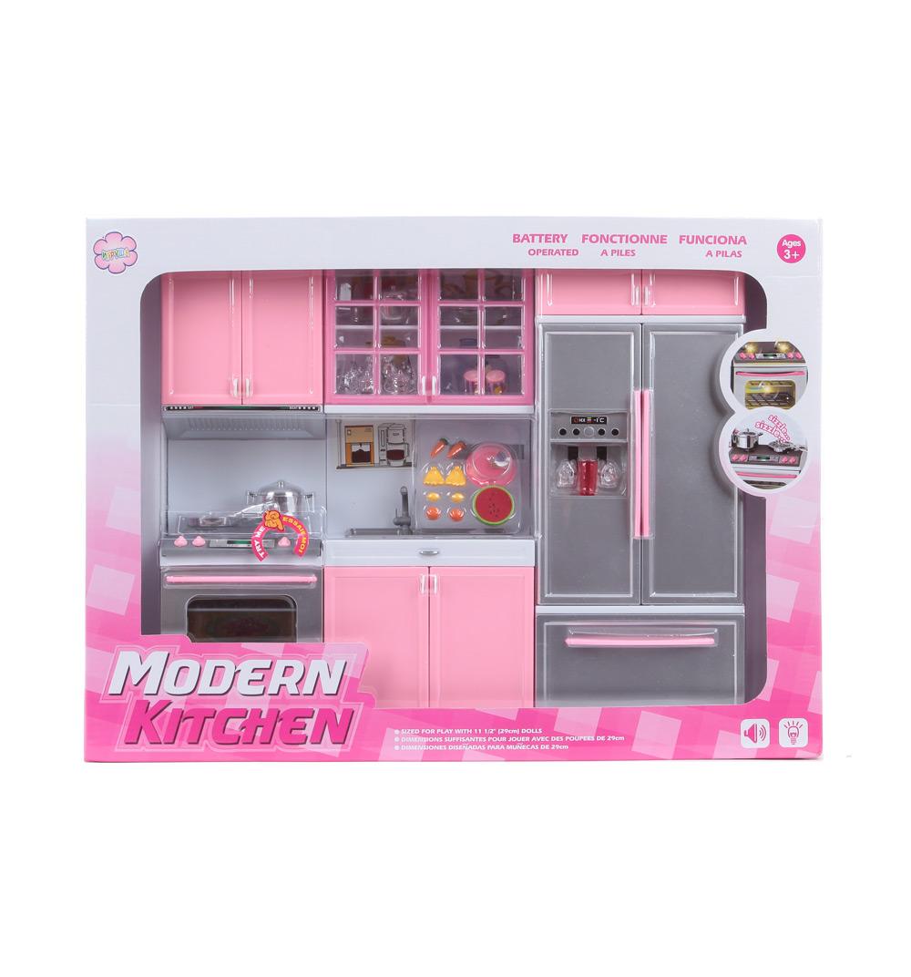 Купить Кухня - Модерн, звуковые и световые эффекты, JUNFA TOYS