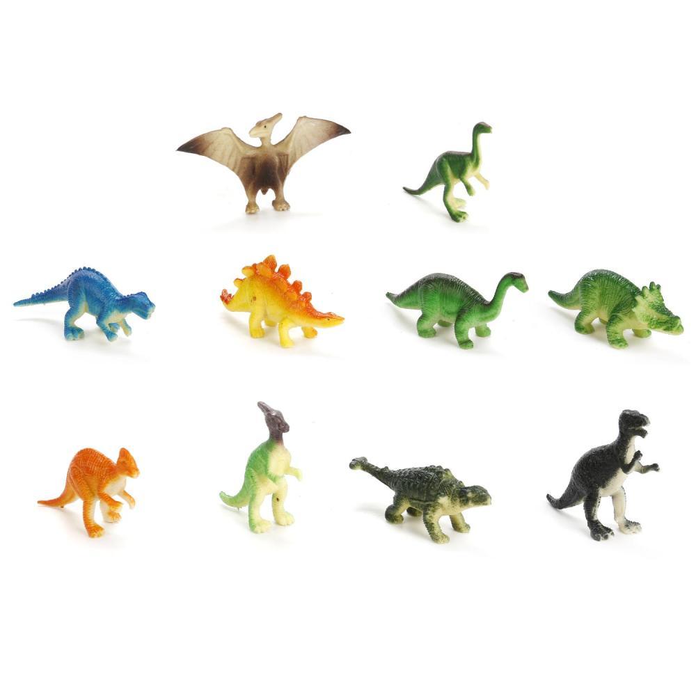 Набор из 12 динозавров - Рассказы о животных, 6 см фото