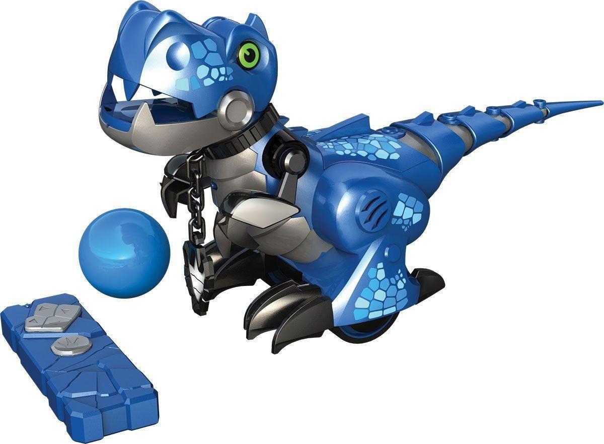 Робот интерактивный «Приручи динозавра», синий - Интерактивные животные, артикул: 165157
