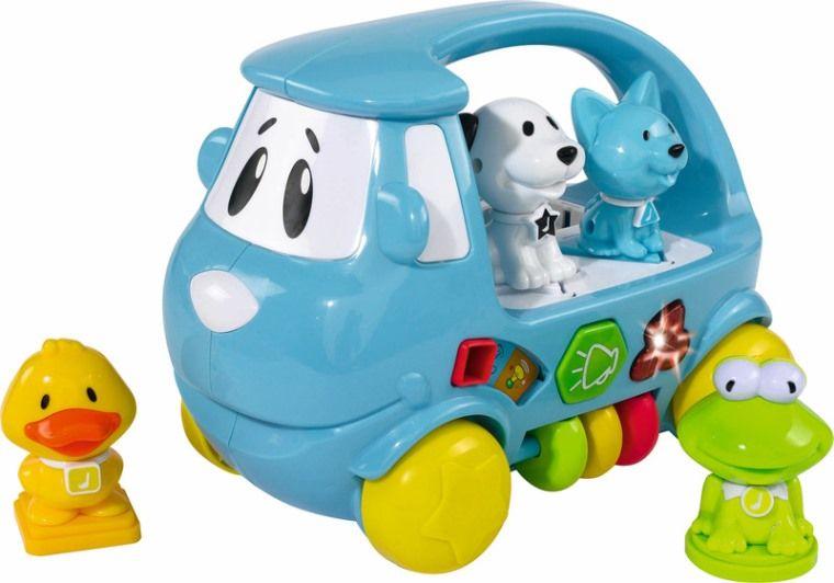 Машинка-сортер с животными , 22 см от Toyway