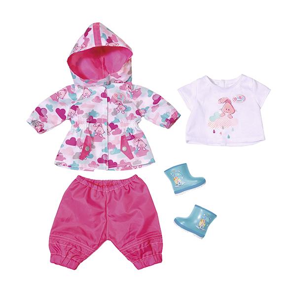 Одежда для дождливой погоды для куклы из серии Baby bornОдежда Baby Born <br>Одежда для дождливой погоды для куклы из серии Baby born<br>