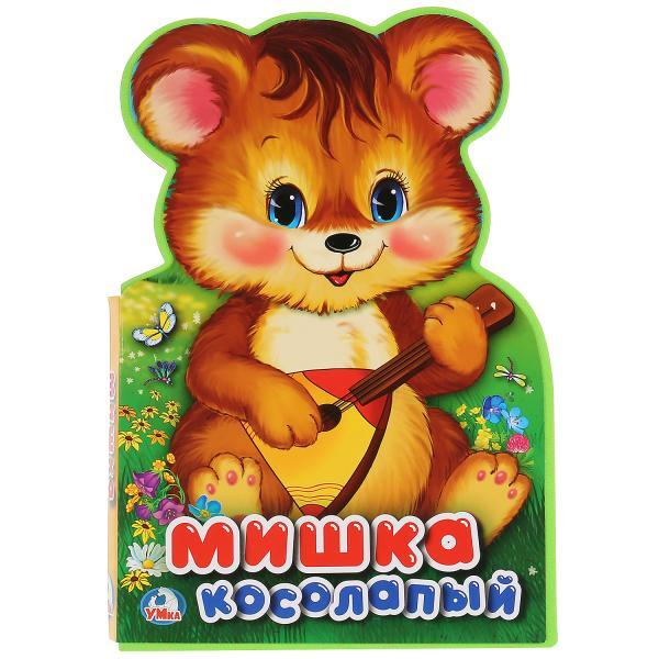 Книжка EVA с фигурной вырубкой Мишка Косолапый фото