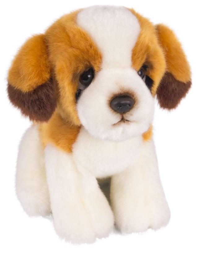 Купить Мягкая игрушка - Щенок Сенбернар, 18 см, Button Blue