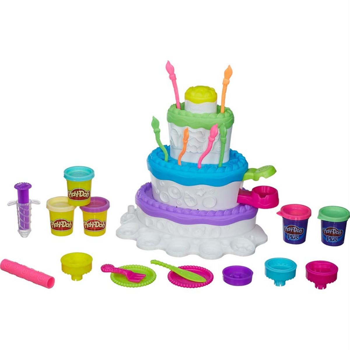 Купить Праздничный торт Play-Doh, Hasbro
