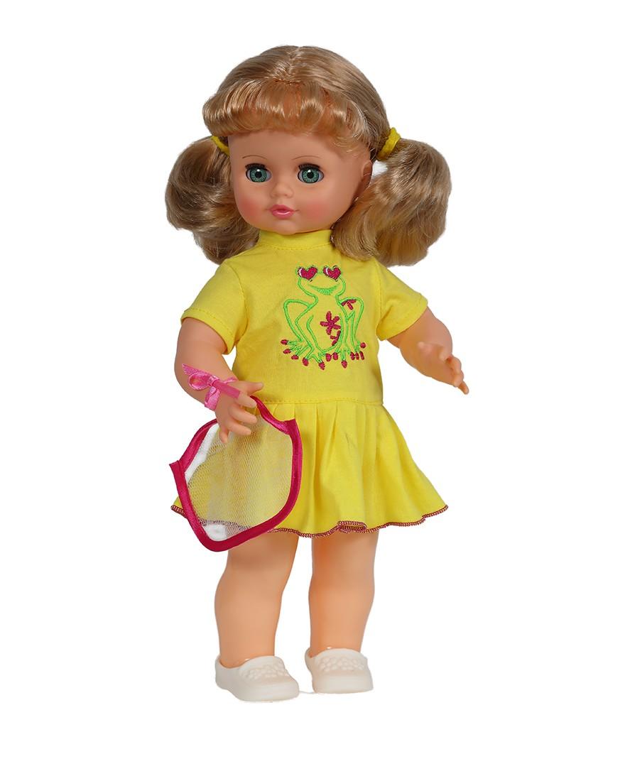 Кукла Инна 14 со звуковым устройством, 43 смРусские куклы фабрики Весна<br>Кукла Инна 14 со звуковым устройством, 43 см<br>