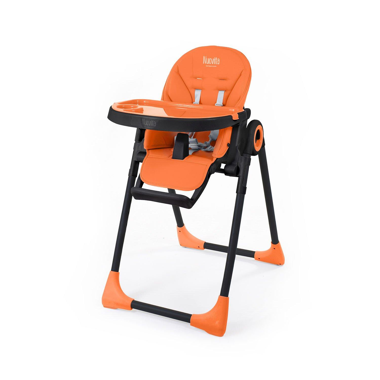 Стульчик для кормления - Nuovita Lembo, Arancione, Nero/Оранжевый, Черный фото