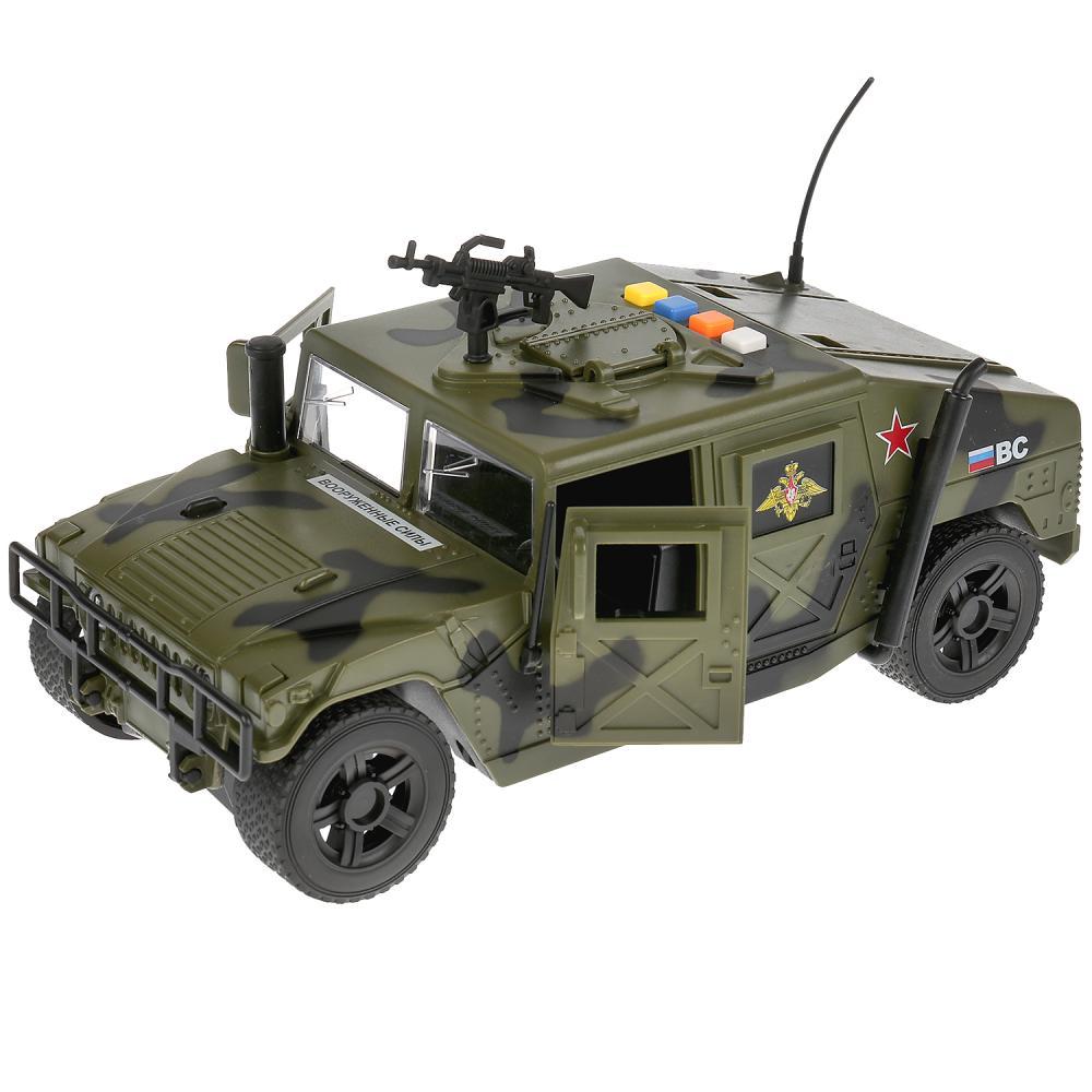 Купить Машина - Военный джип, 23, 5 см свет и звук, Технопарк