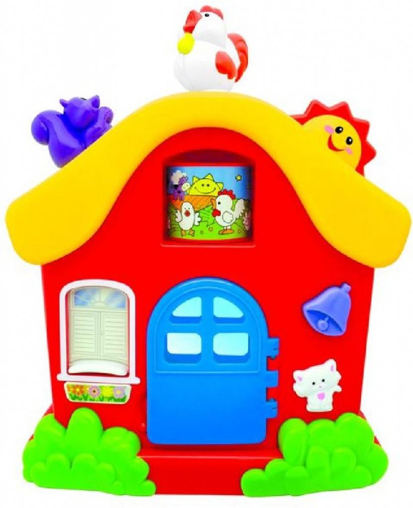 Развивающая игрушка «Интерактивный домик» Kiddieland, KID 051466