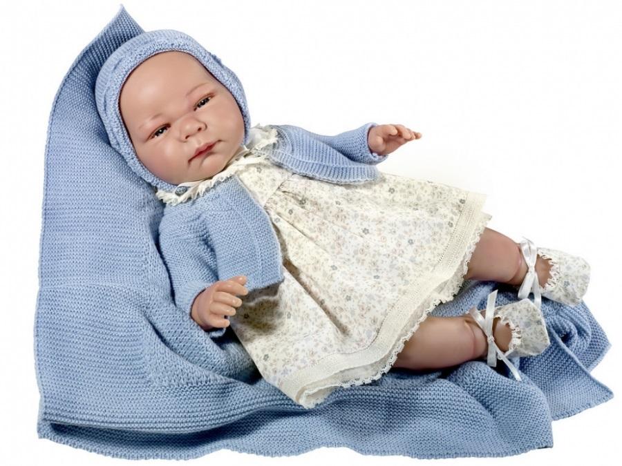 Кукла Химена, с пледом, 46 см.Куклы ASI (Испания)<br>Кукла Химена, с пледом, 46 см.<br>