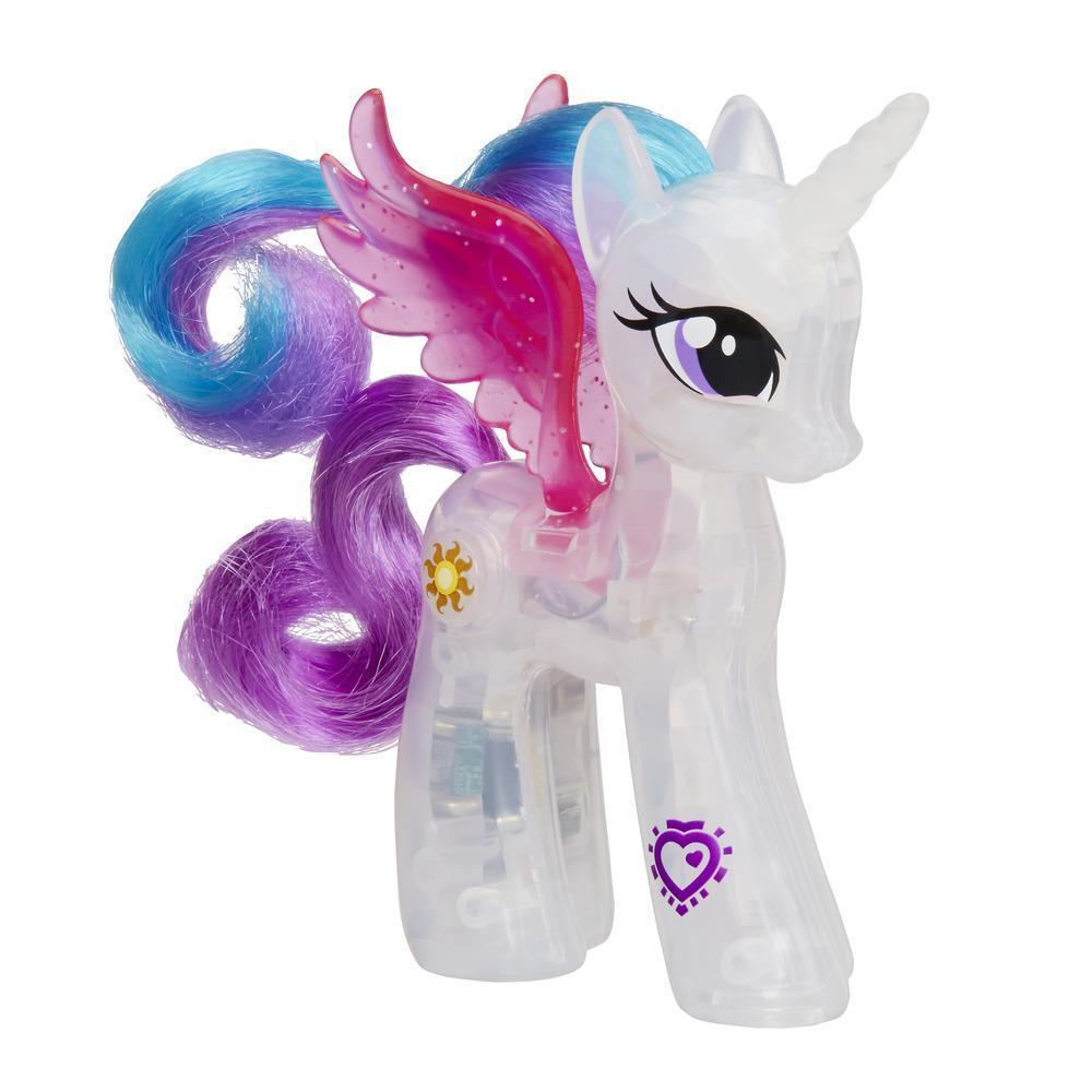 Фигурка My Little Pony: Сияющие принцессы – Селестия, светМоя маленькая пони (My Little Pony)<br>Фигурка My Little Pony: Сияющие принцессы – Селестия, свет<br>