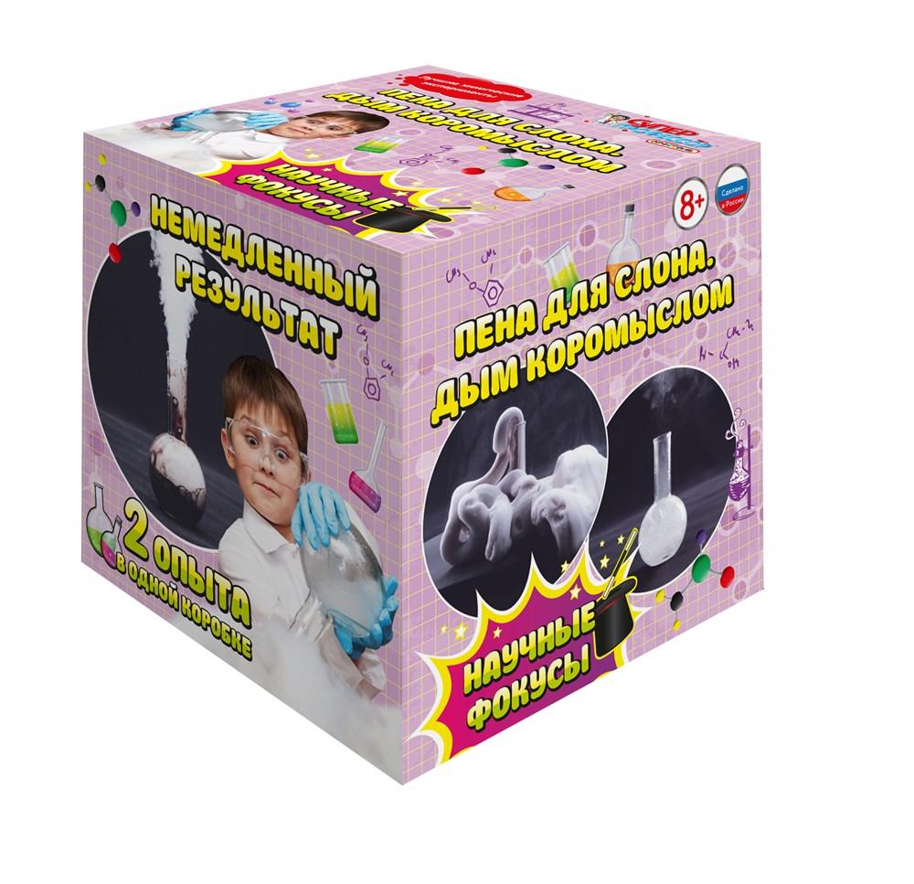 Купить Мини-набор для экспериментов - Пена для слона - Дым коромыслом, Научные технологии